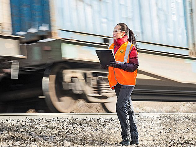Rail freight services